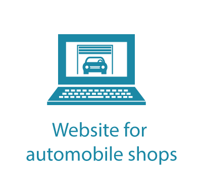 Website for automobile shops