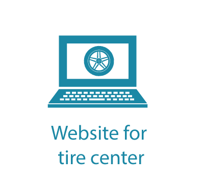 Website for tire center